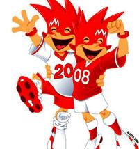 Trix et Flix - Mascottes de l'Euro 2008