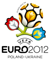 Logo officiel de l'Euro 2012