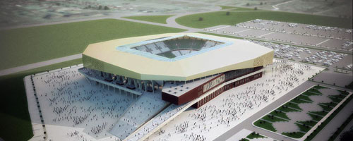 New Stadium Lemberg